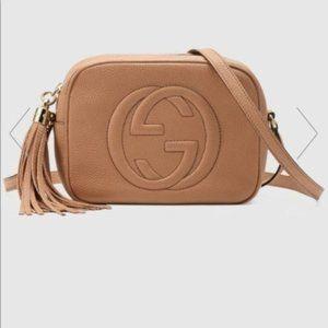 NWT Gucci Soho Small Leather Dis718621